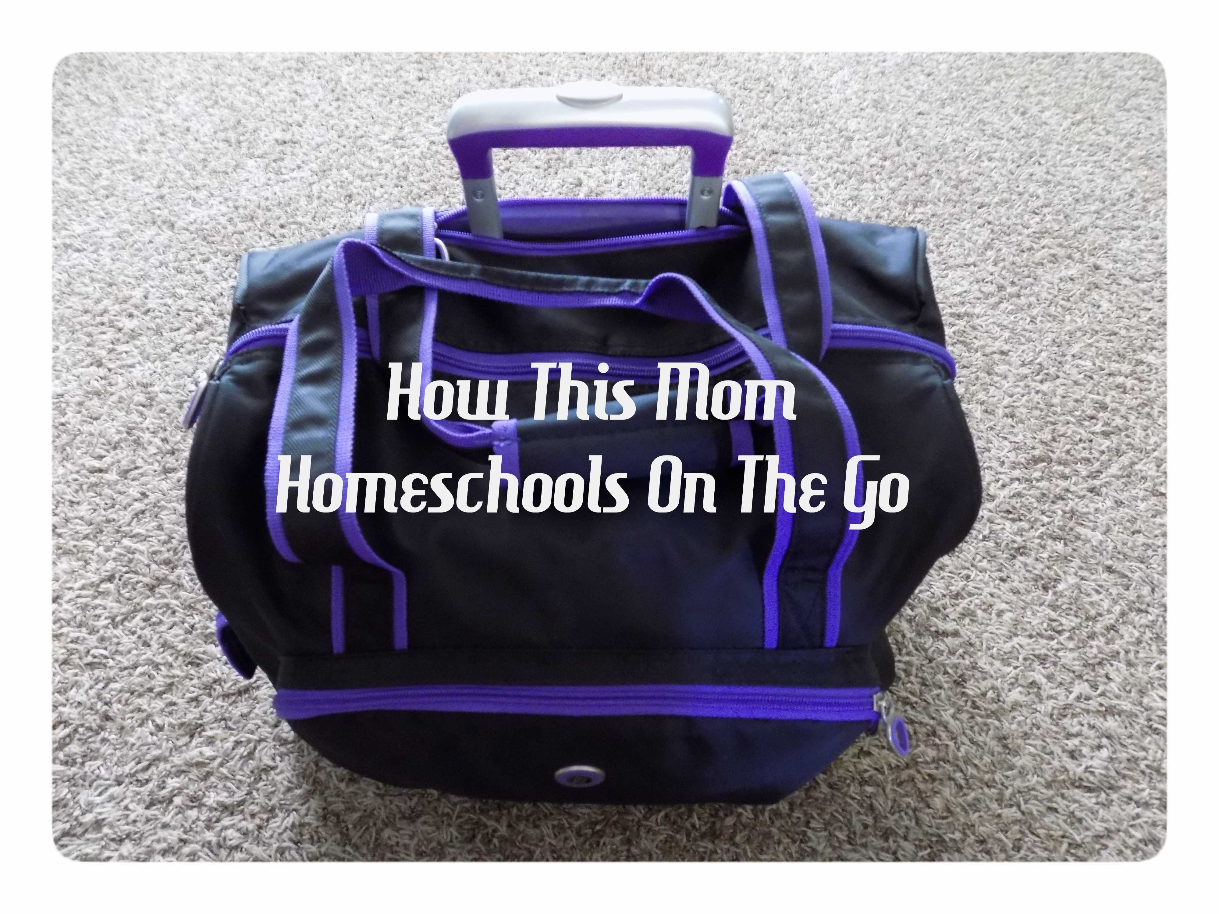 Homeschooling-On-The-Go