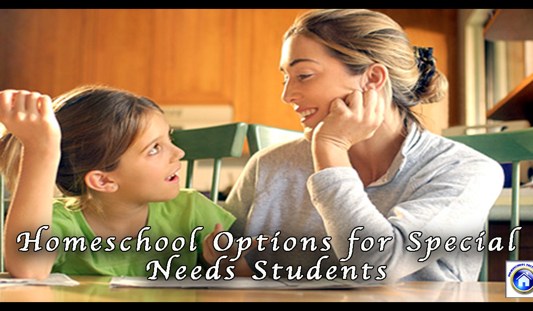 Options for Homeschool Students with Special Needs