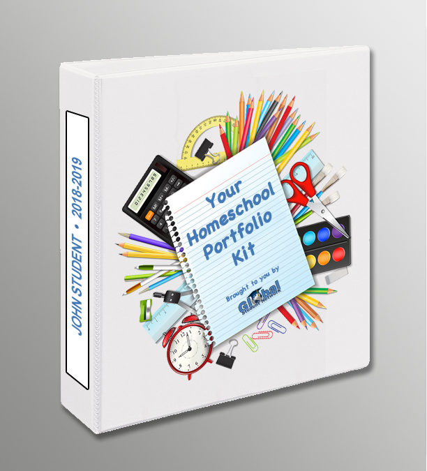 Free Homeschool Portfolio Kit from Global Student Network