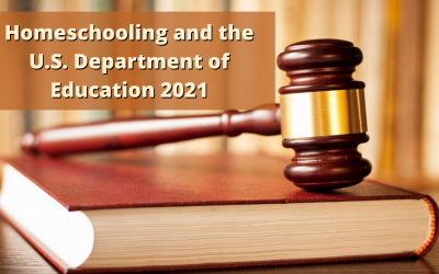 Homeschooling and the U.S. Department of Education 2021