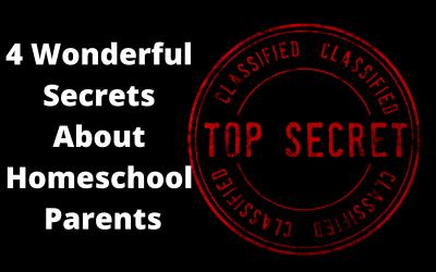 4 Wonderful Secrets About Homeschool Parents