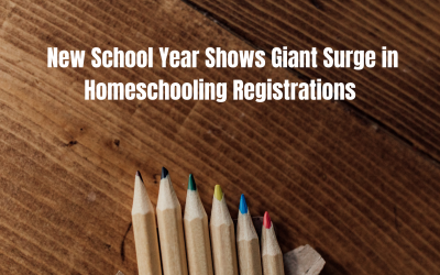 New School Year Shows Giant Surge in Homeschooling Registrations